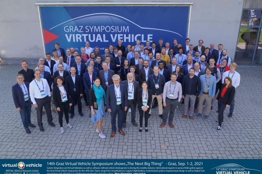 """14th Graz Virtual Vehicle Symposium shows """"The Next Big Thing""""   - Graz, Sep. 1-2, 2021   -   System Integration and Virtual Validation as well as software-defined vehicle development is driving the mobility industry. International experts in various fields gather again at the Graz Virtual Vehicle Symposium for the 14th time. Topics range from virtualization to support digitalization, model-based systems engineering & design as well as Digital Twin perspectives and utilizations to collaborative engineering and agile culture.  More information:  www.gsvf.at"""